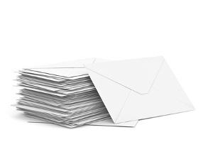Meistens wird eine Abmahnung mittels Schreiben per Post versandt.