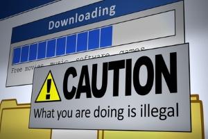 Nur in wenigen Fällen ist ein Download mit Filesharing auch legal.