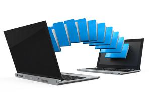 Filesharing-Programme dienen dazu, Dateien zwischen Rechnern auszutauschen.