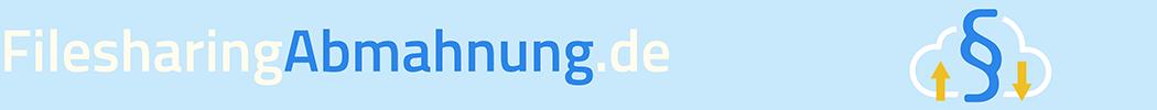 Logo von Filesharing Abmahnung